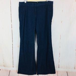 J Crew Chino Pants Size 6 Favorite Fit Wide Leg